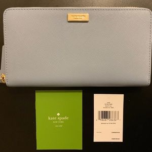 NEW Kate Spade Neda Laurel Way Leather Wallet